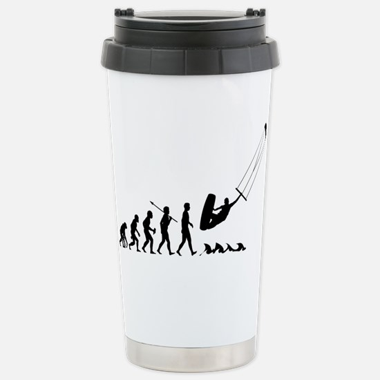 Kitesurfing Stainless Steel Travel Mug