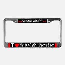 NB_Welsh Terrier License Plate Frame