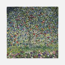 Gustav Klimt Apple Tree Queen Duvet