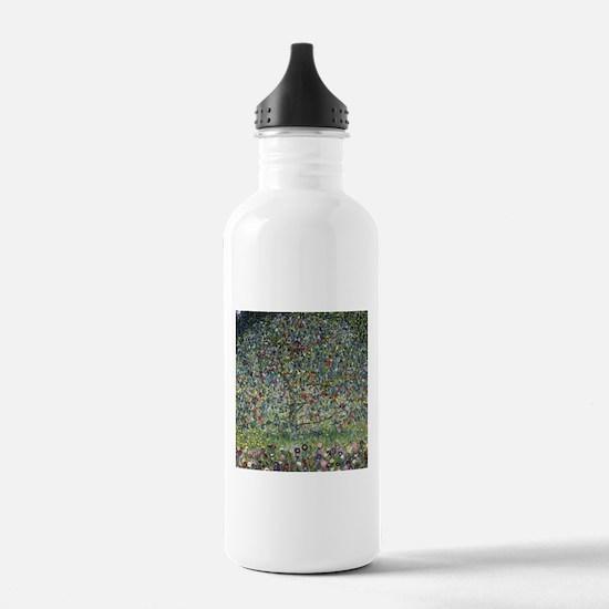 Gustav Klimt Apple Tree Water Bottle