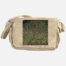 Gustav Klimt Apple Tree Messenger Bag