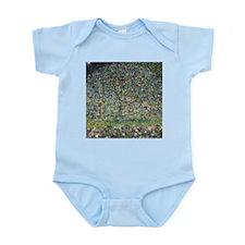 Gustav Klimt Apple Tree Infant Bodysuit