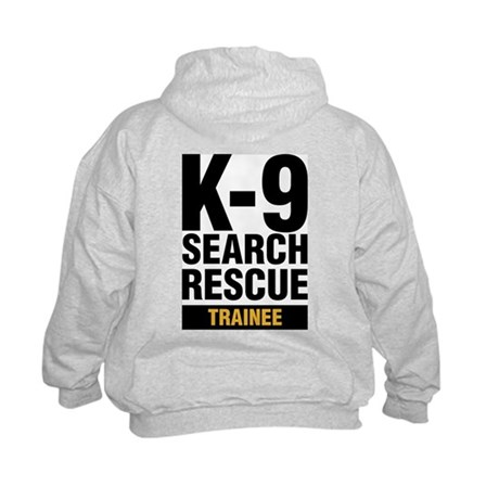 K-9 SAR Trainee Kids Crewneck Sweatshirt