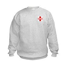 K-9 SAR Trainee Kids Crewneck Sweatshirt