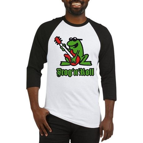 frog n roll A 3c.png Baseball Jersey
