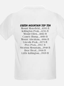 Green Mountain Top Ten T-Shirt