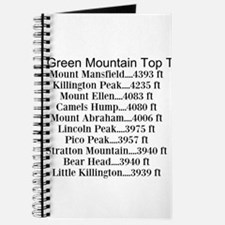Green Mountain Top Ten Journal