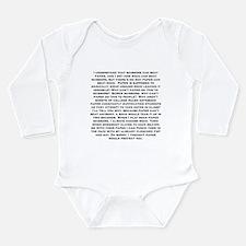 Rock Paper scissors Long Sleeve Infant Bodysuit