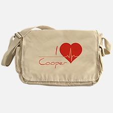 I love Cooper Messenger Bag