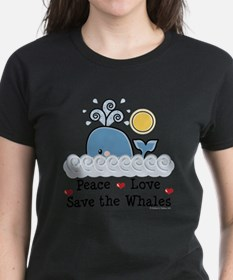 Unique Save the whales Tee