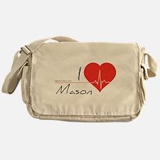 I love Mason Messenger Bag