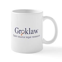 Groklaw Logo/Text Mug