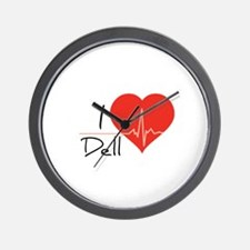 I love Dell Wall Clock