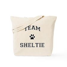 Team Sheltie Tote Bag