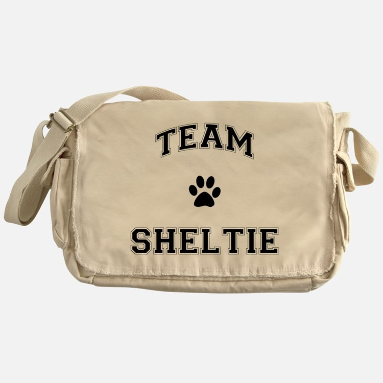 Team Sheltie Messenger Bag
