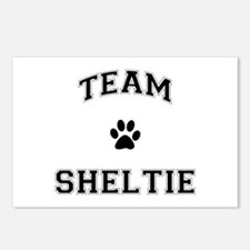 Team Sheltie Postcards (Package of 8)