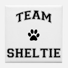 Team Sheltie Tile Coaster