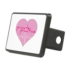 Private practice heart Hitch Cover