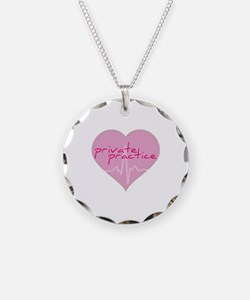 Private practice heart Necklace