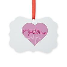 Private practice heart Ornament