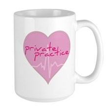 Private practice heart Mug