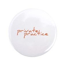 """Private practice 3.5"""" Button (100 pack)"""
