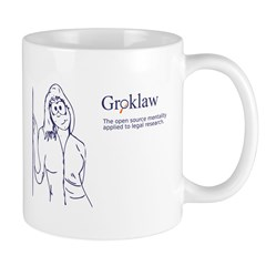 Groklaw PJ Drawing Mug