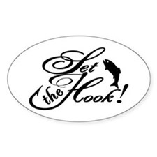 Set the Hook Fishing Fashion! Decal