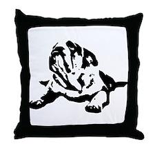 bulldogs.png Throw Pillow