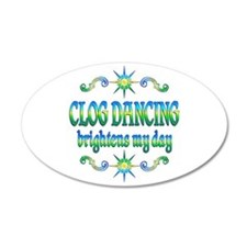 Clogging Brightens Wall Decal