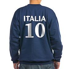 Italia Forza Azzurri 2 side print Sweatshirt