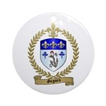 GOGUEN Family Crest Ornament (Round)