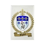 GOGUEN Family Crest Rectangle Magnet (100 pack)