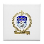 GOGUEN Family Crest Tile Coaster