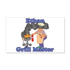 Grill Master Ethan Wall Decal