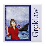 Groklaw SCO Sinks Tile Coaster