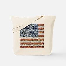 Van Gogh USA Flag Tote Bag