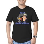 Grill Master Fred Men's Fitted T-Shirt (dark)
