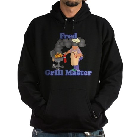 Grill Master Fred Hoodie (dark)