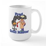 Grill Master Fred Large Mug