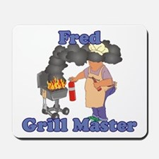 Grill Master Fred Mousepad