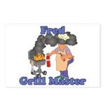 Grill Master Fred Postcards (Package of 8)