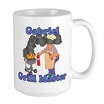 Grill Master Gabriel Large Mug