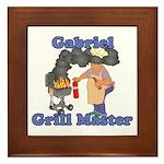 Grill Master Gabriel Framed Tile