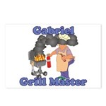 Grill Master Gabriel Postcards (Package of 8)