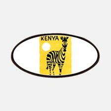 Kenya Travel Poster 1 Patches