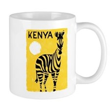 Kenya Travel Poster 1 Mug