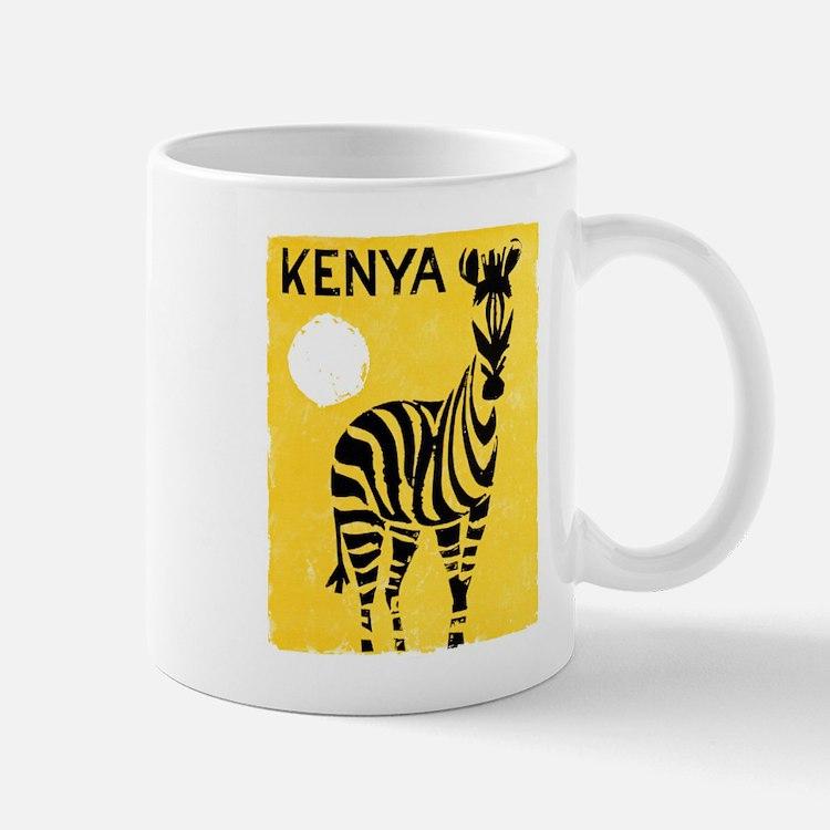 Kenya Travel Poster 1 Mug