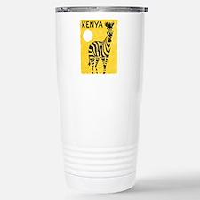 Kenya Travel Poster 1 Travel Mug