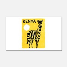 Kenya Travel Poster 1 Car Magnet 20 x 12